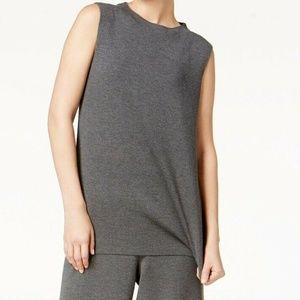 Eileen Fisher Sleeveless Wool Tunic Top Regular an